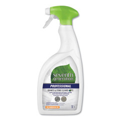 Seventh Generation Granite and Stone Cleaner, Mandarin Orange Scent, 32 oz Bottle