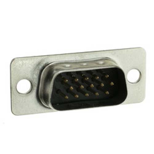 HD15 (VGA) Male Connector, Solder Type