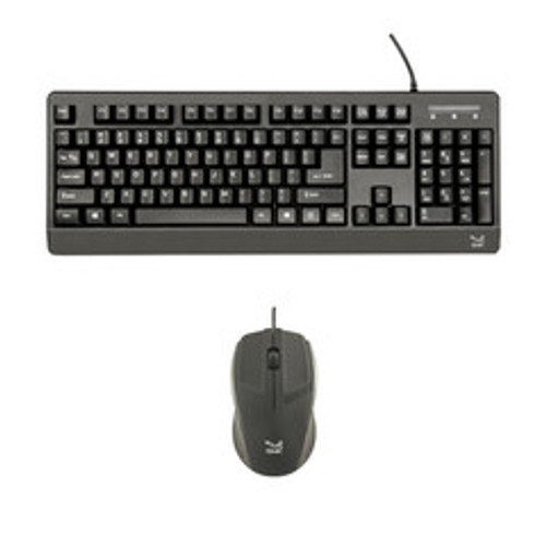 TAA-Compliant Wired USB Keyboard + Mouse,  VP3810 Keyboard, VP3815 Mouse