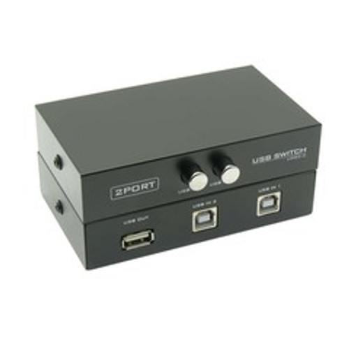 2 PC to 1 USB Device, Manual Switch.  USB2.0