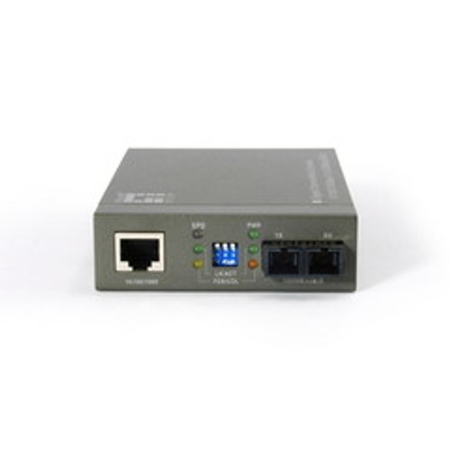 10/100/1000BASE-T to 1000BASE-SX Multi-Mode Fiber Converter (SC) Gigabit
