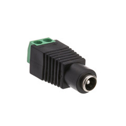 DC Female Power Plug to 2 Pin Terminal (Screw Down) Adapter