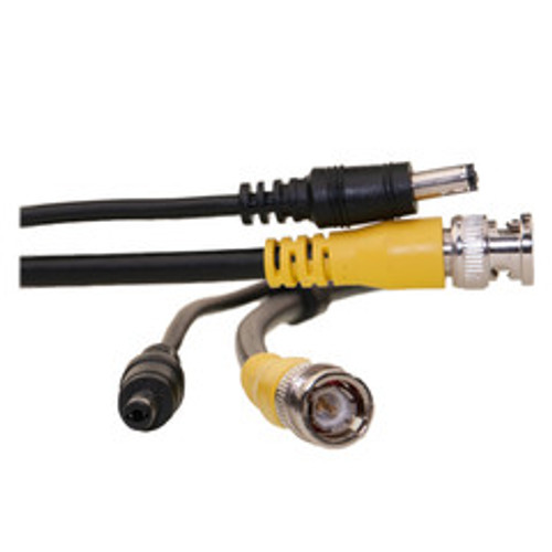 BNC Video Cable with DC Power Cable, BNC Male, Male to Female Power, 50 foot