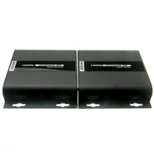 4K HDMI Extender, over Cat5e/6/Local Network with IR return, 120 meter / 390 foot max range