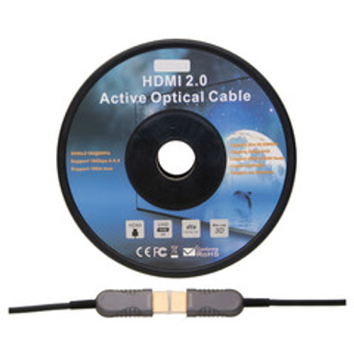 4K HDMI Active Optical Cable (AOC), HDMI Male, 50 meter (164 foot)