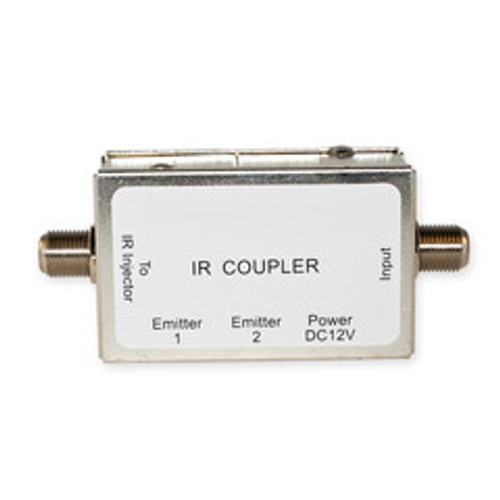 IR Over Coaxial Cable Coupler/Extractor, Extracts Injected IR Signal from Coaxial Cable, 12 Volts DC 200 mA, Max Distance 200 feet