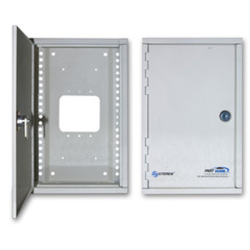 Media Cabinet, Surface Mount Enclosure, Dimensions: 7 (W) x 11 (H) x 3 5/16 (D) inches