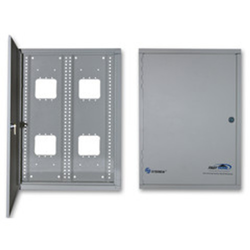 Media Cabinet, Surface Mount Enclosure, Dimensions: 14 9/16 (W) x 19 (H) x 4 5/16 (D) inches