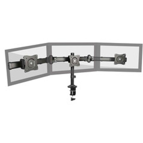 Triple Monitor Deskmount Stand 13 to 27 inch