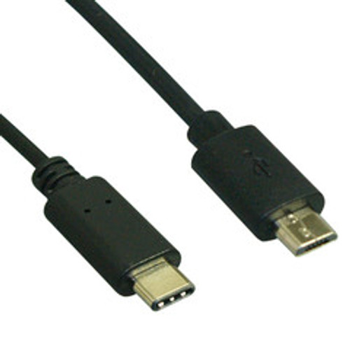 USB 2.0 Type C Male to Micro B Male Cable - 480mb - 6ft