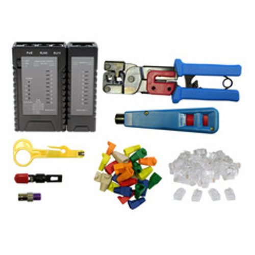 SOHO Network Tester and Tool Kit, 8 Pieces