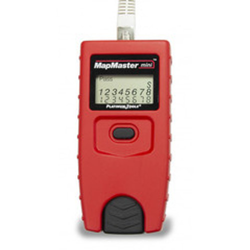 Platinum Tools MapMaster mini RJ45 network cable tester, includes five ID-only network remotes.