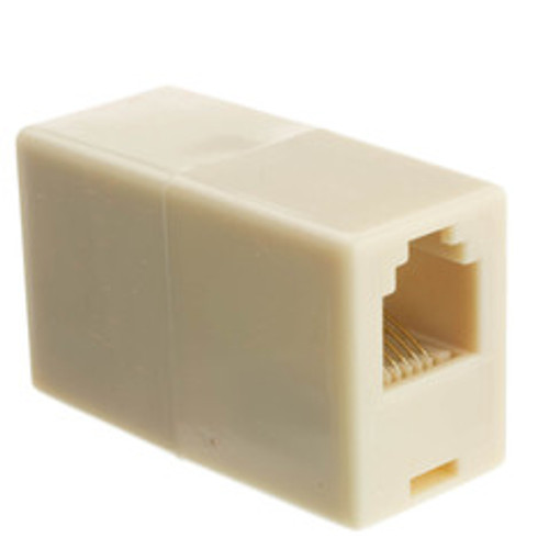 Inline Telephone Coupler (Voice), RJ12, 6P/6C