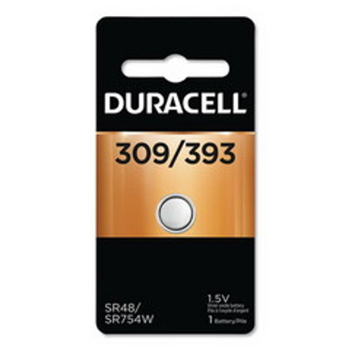 Duracell 309/393 1.5V Button Battery, D309393
