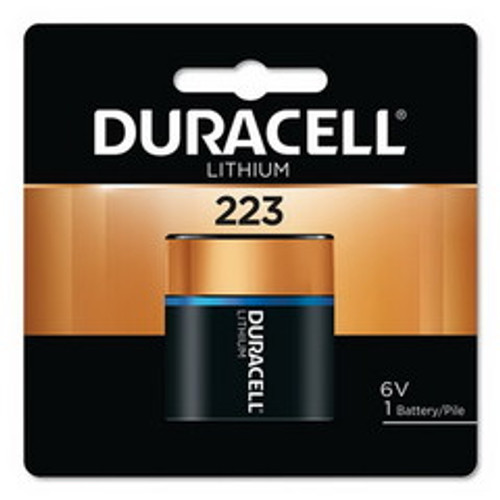 Duracell 223 6V Lithium Battery, DL223ABPK