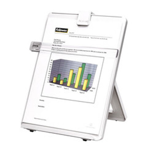 Fellowes Copyholder, Letter Sized, Non-Magnetic, Platinum