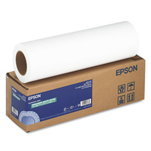 Epson Enhanced Photo Paper, 192 g, Matte, 17-inch x 100ft - S041725