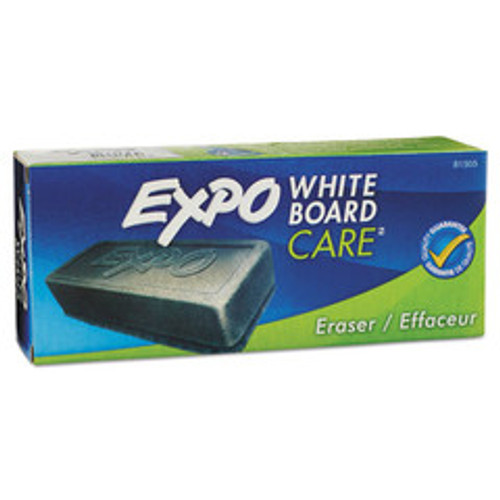 Expo Dry Erase Block Eraser, Soft Pile, 5 1/8 inches x 1 1/4 inches