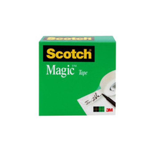 3M Scotch Tape, 3/4 in x 36 Yards Boxed