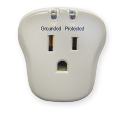 Surge Protector, 1 Outlet, 540 Joules with EMI/RFI filter