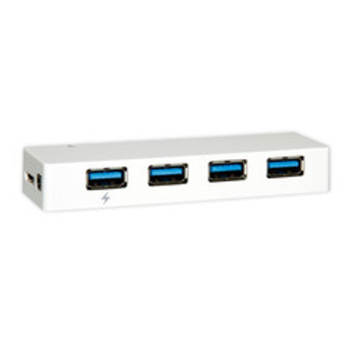 USB 3.0 Super Speed Desktop Hub, White, 4 Port, Self Powered