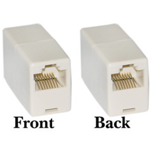 RJ45, 8P8C, (Straight) Telephone Inline Coupler