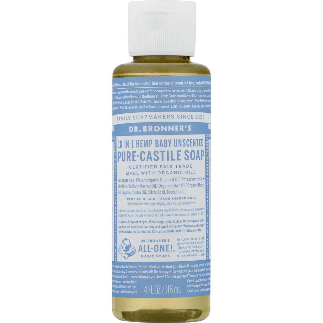 Dr Bronner's 18-in-1 Hemp Pure-Castile Soap
