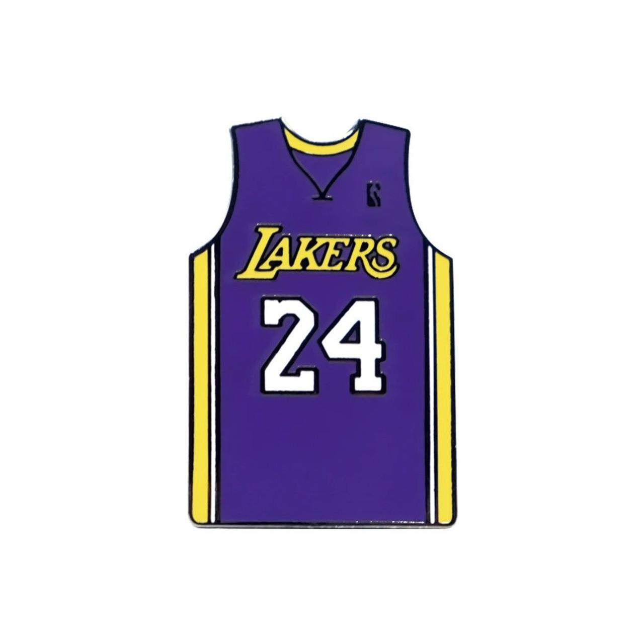 Kobe Bryant 24 Lakers Purple Jersey by KingPinz