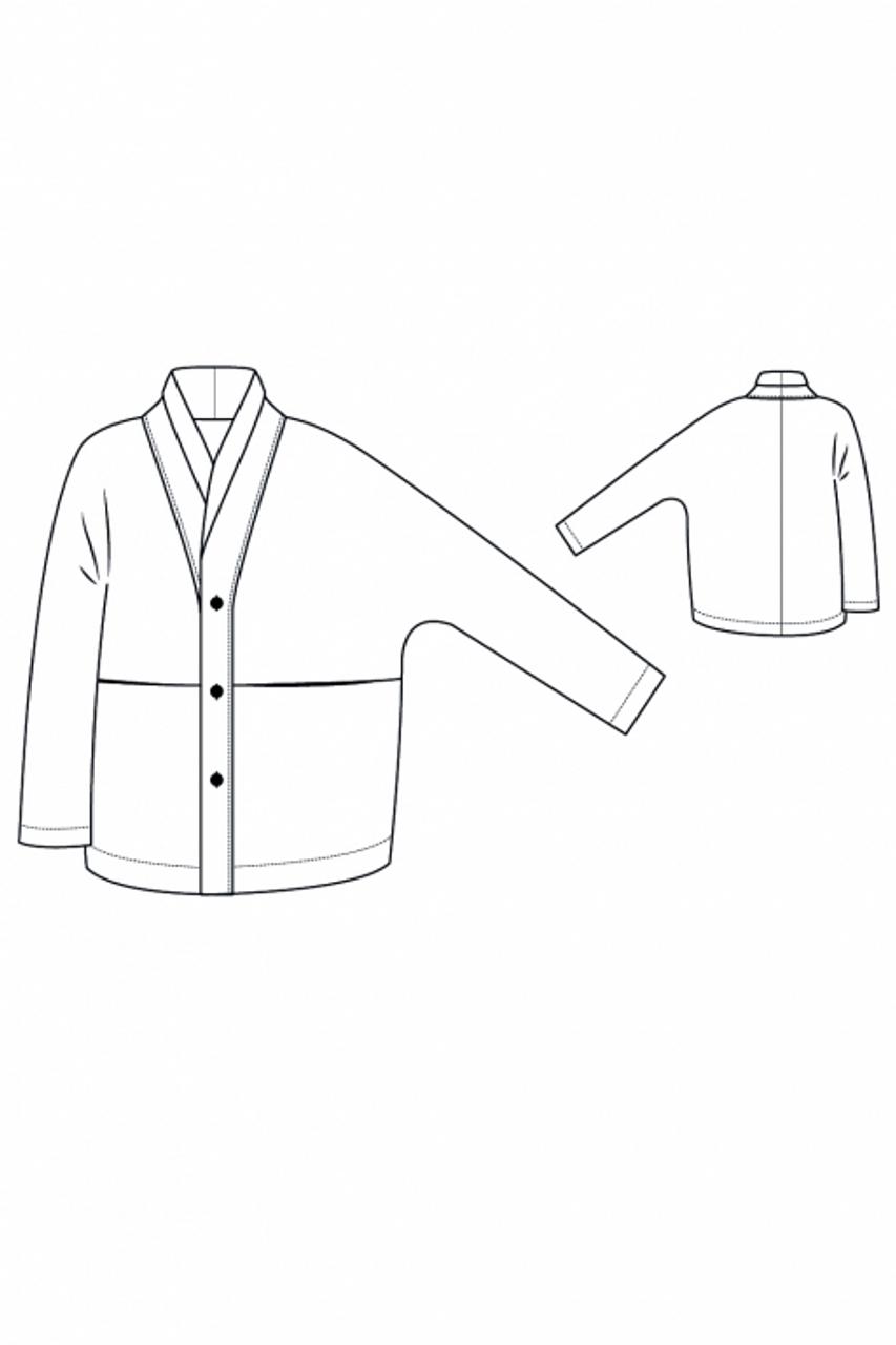 I Am Patterns Artemis Coat sewing pattern