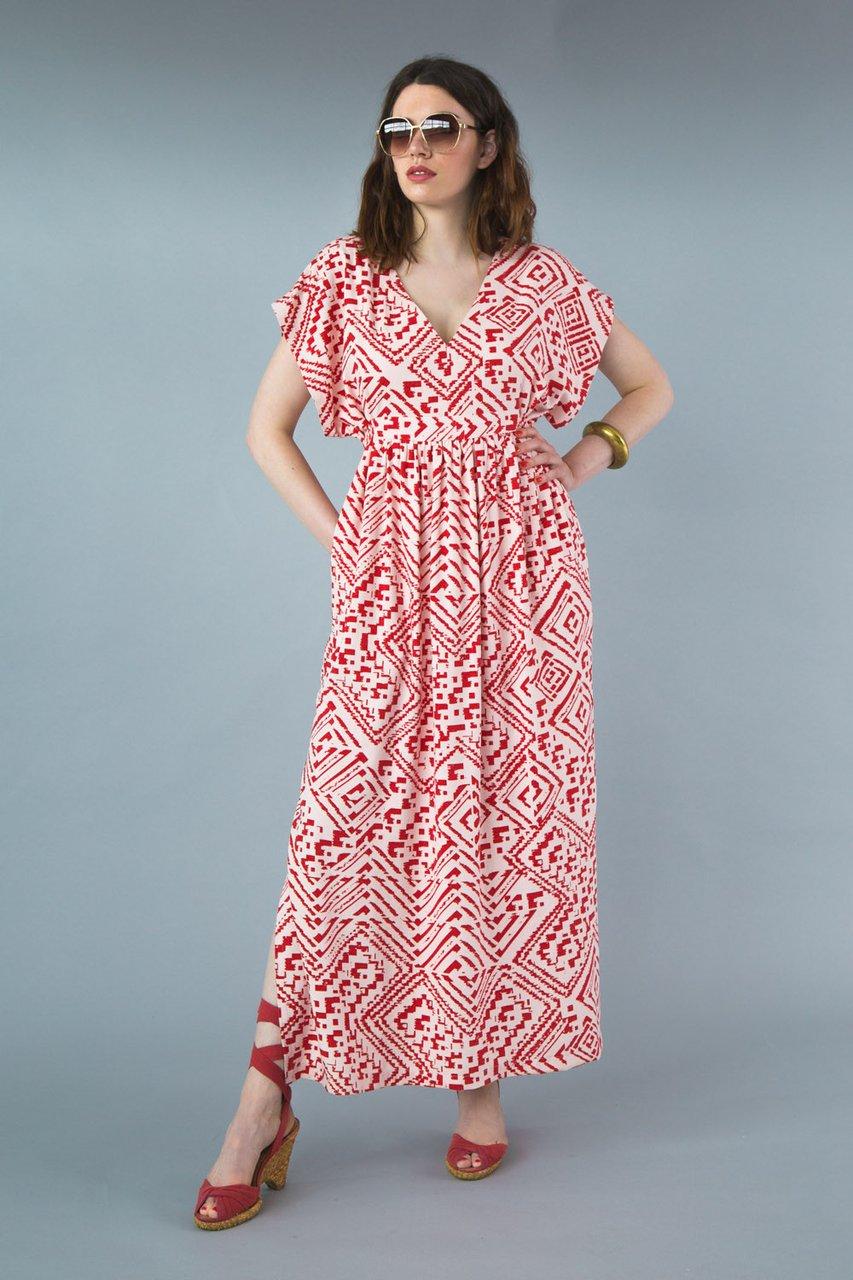 7b79f5dbf9 Closet Case Patterns Charlie Caftan Fabric Godmother