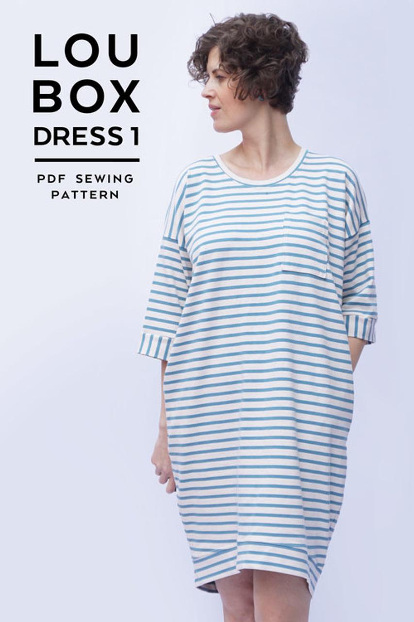 Sew DIY Lou Box Dress 1 PDF (Beginner)