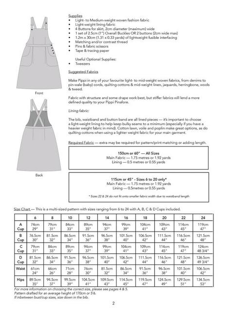 a395e75849e Jennifer Lauren Handmade Pippi Pinafore PDF Fabric Godmother ...