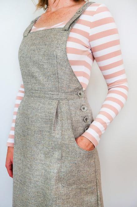 fb85529b34d ... Jennifer Lauren Handmade Pippi Pinafore PDF Fabric Godmother ...