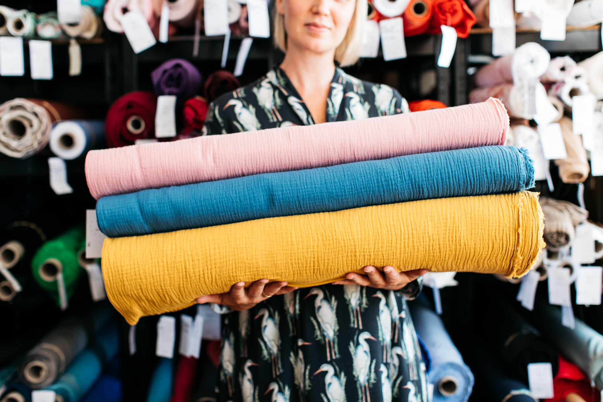 a438ea749fb Dress Fabric: Fabric Godmother Dressmaking Fabrics To Buy online