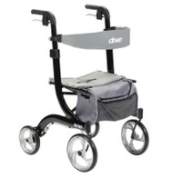 The All New 2020 Drive Nitro Euro Style 4 Wheel Rollator~Style and Performance