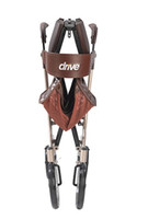 Nitro DLX Euro Style Walker Rollator by Drive Medical, Champagne