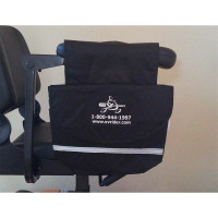 EV RIDER SADDLE ARMREST BAG-FITS ANY SCOOTER WITH ARMRESTS