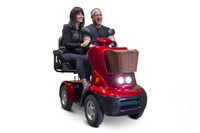 EWHEELS EW88-New Ultra Swag Dual Scooter-Up to 575 lb. Weight Capacity! Call for Big Savings!