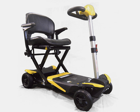 # 1 Transformer Automatic Folding Mobility Scooter- Bonus! FREE Premium Accessory w/Purchase