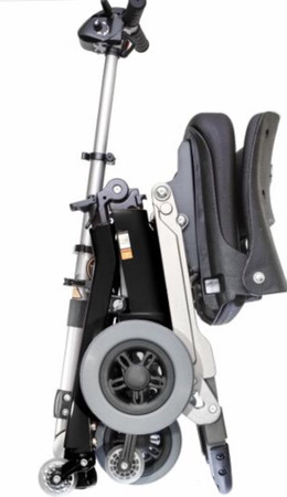 Luggie Elite Foldable Travel  Scooter-up to 320 lb capacity-7 Day Risk Free