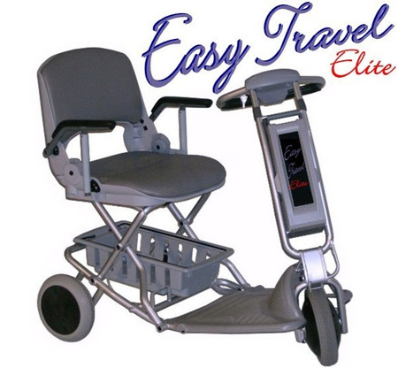 TZORA Elite Easy Travel 3 Wheel Scooter