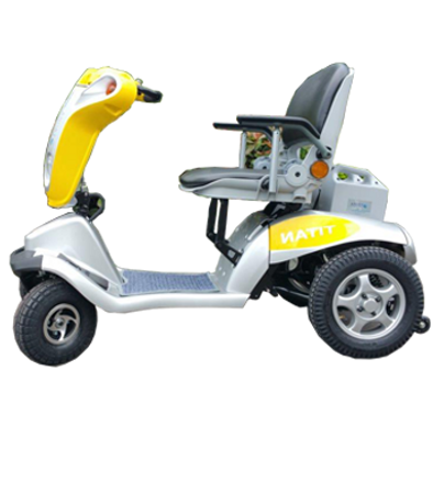 Tzora Titan-3 Wheel HD Performance Travel-Portable Scooter