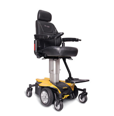 NEW 2018 JAZZY AIR WITH AUTO ELEVATING SEAT