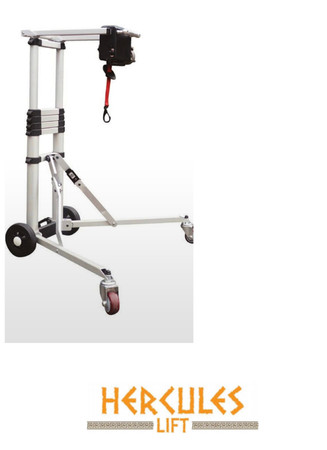 The Hercules  Portable lift for Solax Transformer and Mobie Plus Scooters -Back in Stock!