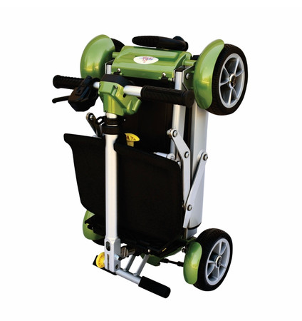 New EVrider Gyspy Easy Travel Scooter! Only 37 lbs-Fits on Overhead on Aircraft!