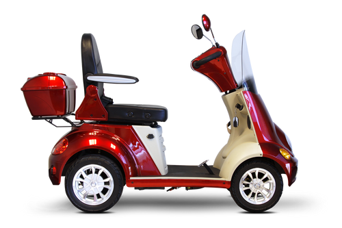 EW-52 4-Wheel All Terain Scooter-Sleek Recreational Scooter-Up to 500 lbs weight capacity! LABOR DAY SPECIAL!