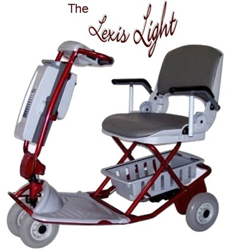 TZORA Lexis Easy Light Travel Scooter-The Original Tzora Travel Scooter!