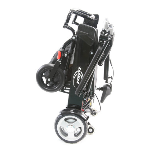 2020 New HD Karman Tranzit Go Foldable Power Chair-Luggage Carrier Size! Standard with 2 Lithium Batteries-Up to 400 lb Weight Capacity. Sale $100 OFF!