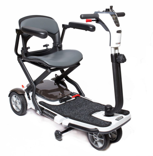 Go Go Folding 4 Wheel Portable Travel Scooter-Free Armrests! Back in stock on 8-15!