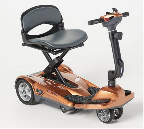 New 4 Wheel EV Rider Award Winning Transport AF+ Auto Folding Scooter-All Newly Updated w/4 Wheels and 11.5 Battery- Ony 44 lbs! In Stock-TAKE $100 OFF